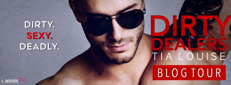 """BLOG TOUR - Dirty Dealers by Tia Louise   Dirty. Sexy. Deadly. Dirty Dealers by Tia Louise IS LIVE!  A gripping story that made my pulseand other body partspound in anticipation of each turn of the page. Ms. Louise delivers on unexpected twists heart-racing action and most of all: a delicious hero in Logan Hunt.  K.L. Kreig USA Today Bestselling Author   BUY NOW   Amazon:http://amzn.to/2jQHnk4  iBooks: http://ift.tt/2jmBXfB;  Nook: http://ift.tt/2jt3pWF;  Kobo: http://smarturl.it/DDk  """"FIVE…"""