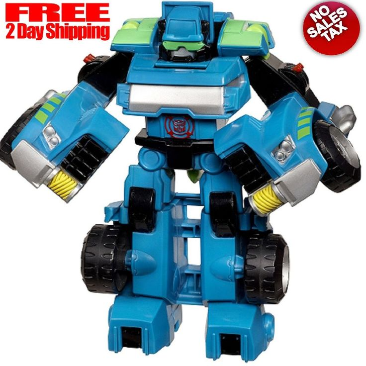 Transformers Action Figure Rescue Bots Playskool Heroes The TowBot Action Figure #Playskool