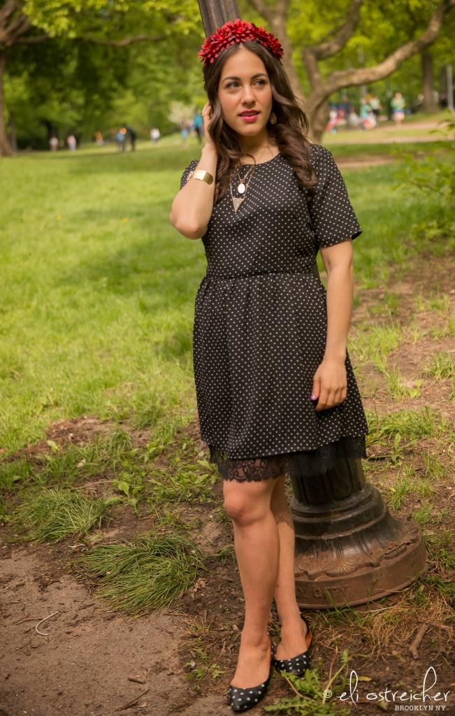 Polka Dots and Flower Crowns - A Sequin Love Affair