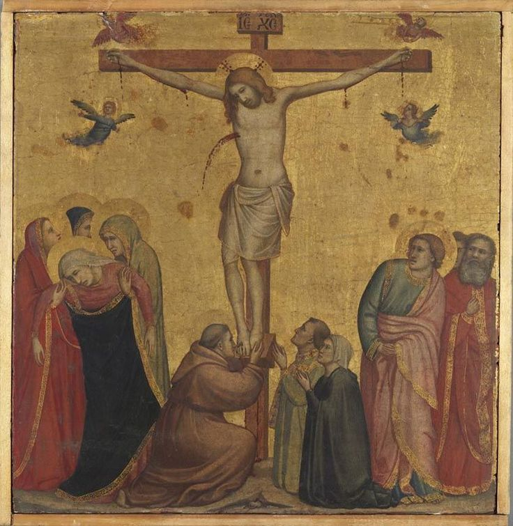 Christ on the Cross // ca. 1300 // Giotto di Bondone // Alte Pinakothek // #Jesus