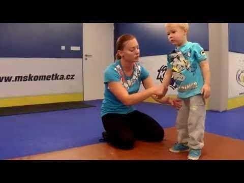 Cvičení dětí v MŠ Kometka - YouTube