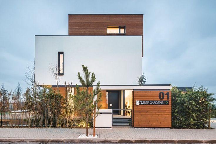 Luxusné zelené domy Jantárové Záhrady odhaľujú bioklimatický