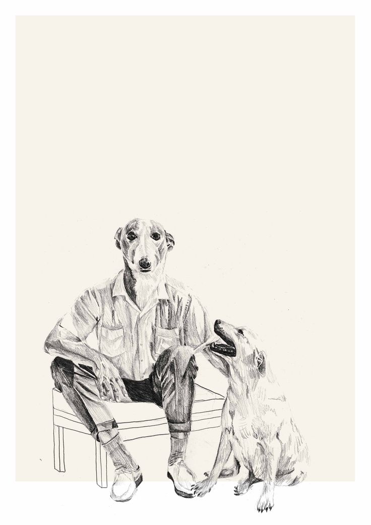 One man and his dog - Lindsay Lombard