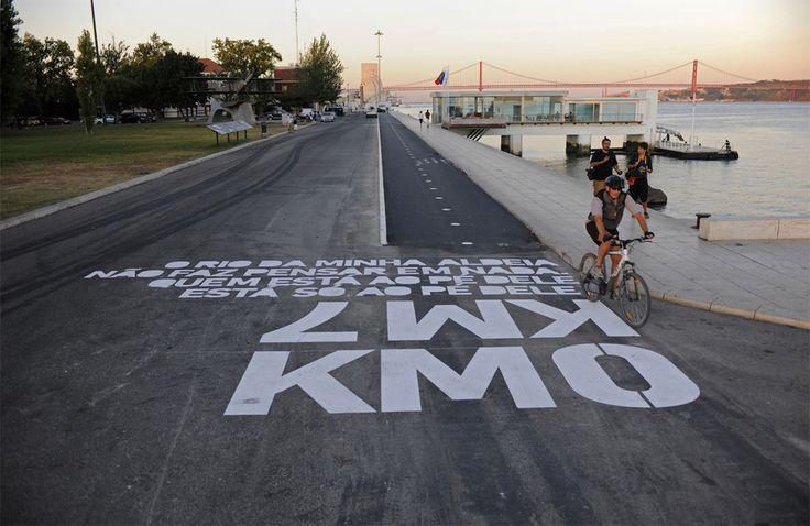 Bike Path in Lisboa by Joao Gomes Da Silva