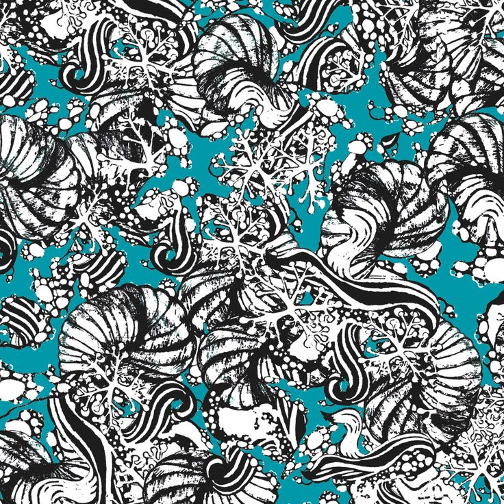 Fondo Marino print by Cristina Bartl