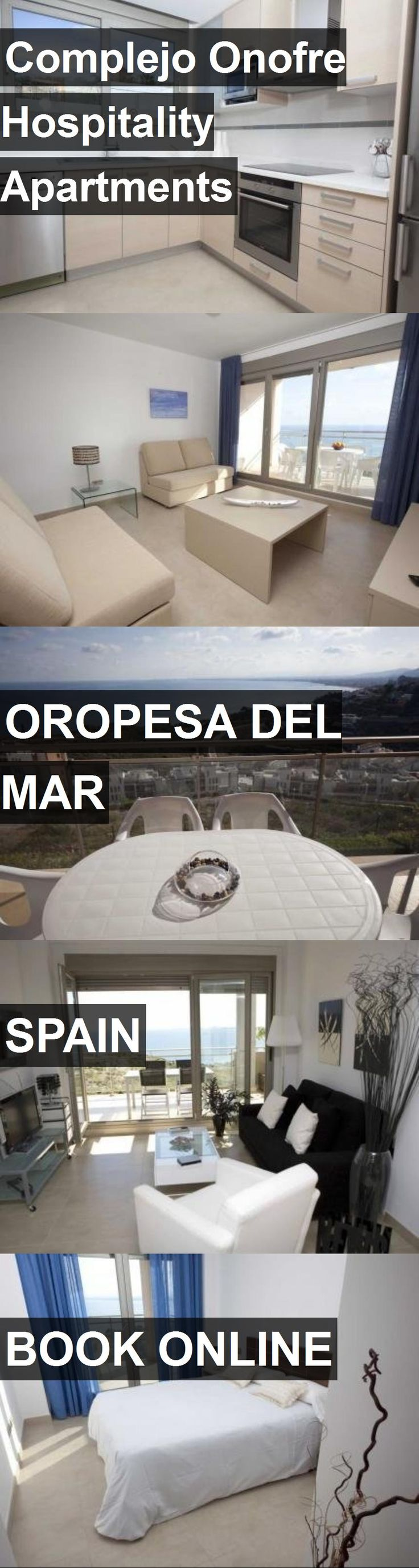 Complejo Onofre Hospitality Apartments in Oropesa del Mar, Spain. For more information, photos, reviews and best prices please follow the link. #Spain #OropesadelMar #travel #vacation #apartment