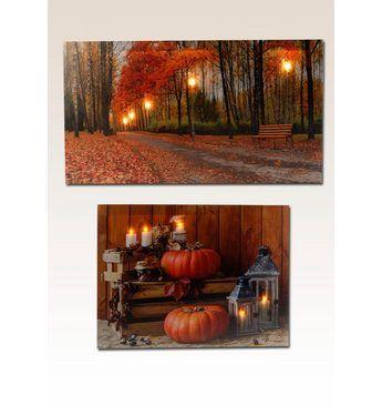 Home affaire LED-Bilder »Autumn« (2 tlg.) 60/30 cm & 40/30 cm Jetzt bestellen unter: https://moebel.ladendirekt.de/dekoration/bilder-und-rahmen/bilder/?uid=9fd1787b-d13b-5ede-b31d-b462f21f0b26&utm_source=pinterest&utm_medium=pin&utm_campaign=boards #bilder #rahmen #dekoration