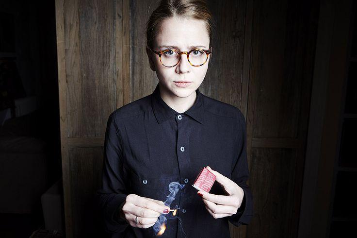 Portrait d'Anastasia Colosimo en novembre 2015