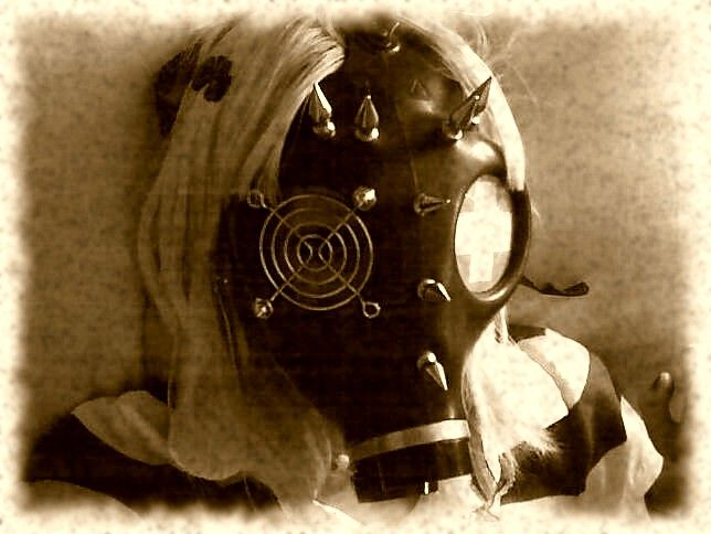 Gas Mask by Nicole Dolly (deviantart.com): Nicoledolly Deviantart Com, Gas Masks, Mask Fetish, Gas Mask Art, Masks Art, Don T Mask