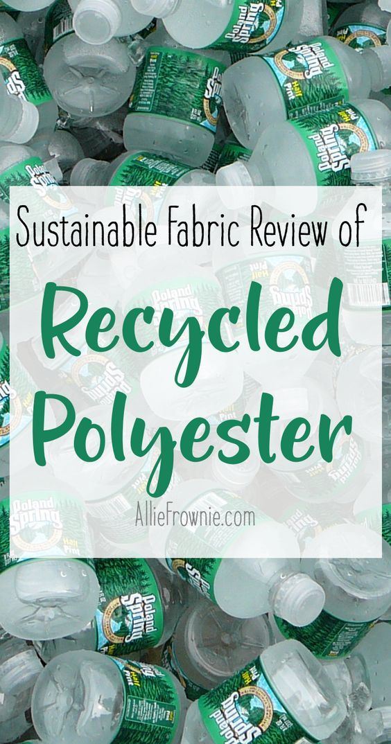 Sustainable Fabric Review of Recycled Polyester