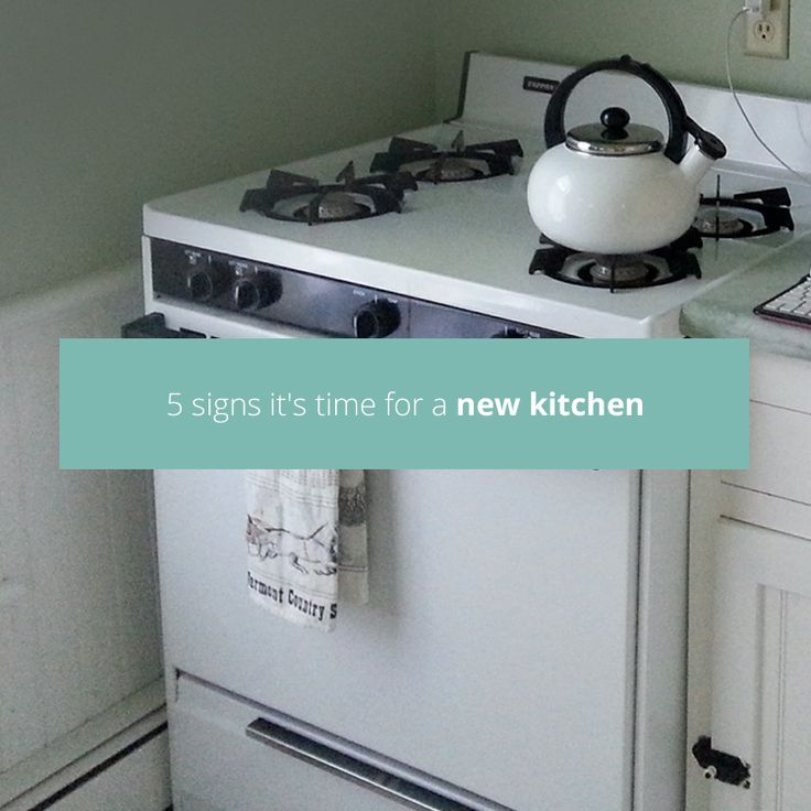 Not sure if it's time to think about getting a new kitchen? Do you think you could get away with a fresh lick of paint rather than a full refit? Take a look at our top five signs it's time for a new kitchen to help you figure out where you stand.