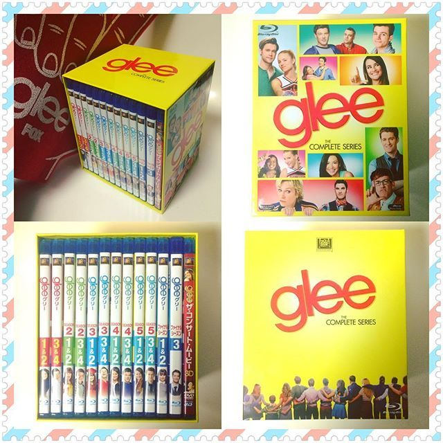 "Finally!!! 🙌 I got the complete blue ray Box of "" glee "" Yesterday🎉✨🎊🍾🎤🎭🎩🎙Yeah!! 💿 Love You All 😍💫 @matty_motown #glee#gleek#Japanesegleek#JapaneseStyle#complete#グリー#グリーク#singer#dancers#mrschue#matthewmorrison#mattyfresh#nyc#ny#newyorker#newyork#broadway#musicaldrama#musical#rachelberry#concertmovie#sardis#star#broadwaystar#rockyhorrorshow#マシューモリソン#ohio#newdirections#この時を待っていた"