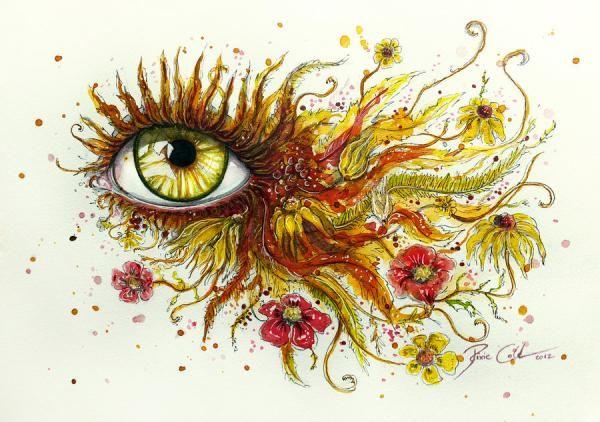 Mind Blowing Eye Art by Svenja Jödicke | Cuded