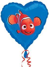 Nemo, Ambalajsız Folyo Balon Folyo balon, uçan balon, balon buketi, psrti balonu, temalı balon, balon süsleme