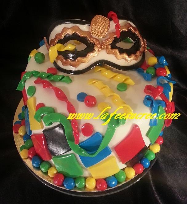 Cake carnaval  Gâteau de carnaval