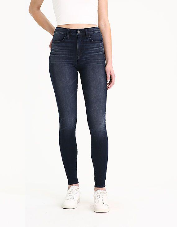 68411f20 The Dream Jean Super High-Waisted Jegging, Intensely Dark   Christmas 18    Jeggings, Best jeans, Dark