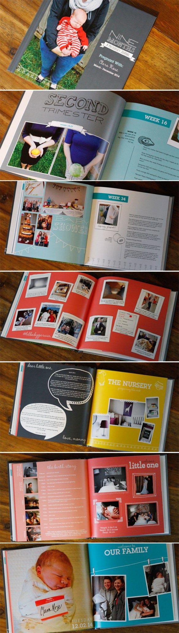 Pregnancy scrapbook ideas journaling - A Pregnancy Journal