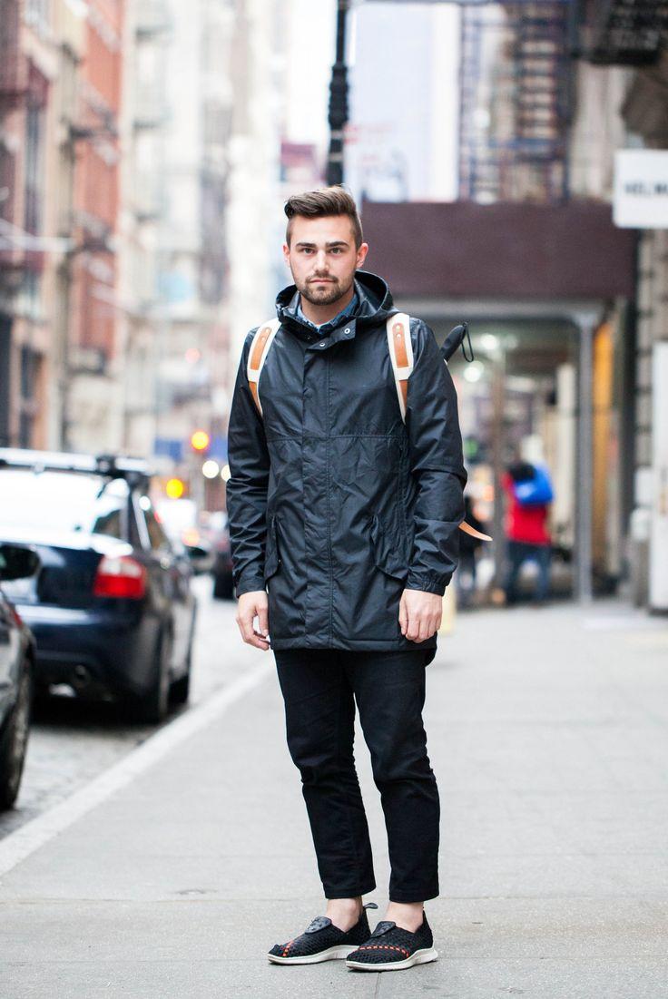 Street Fashion Wearing Nike Shoes Men