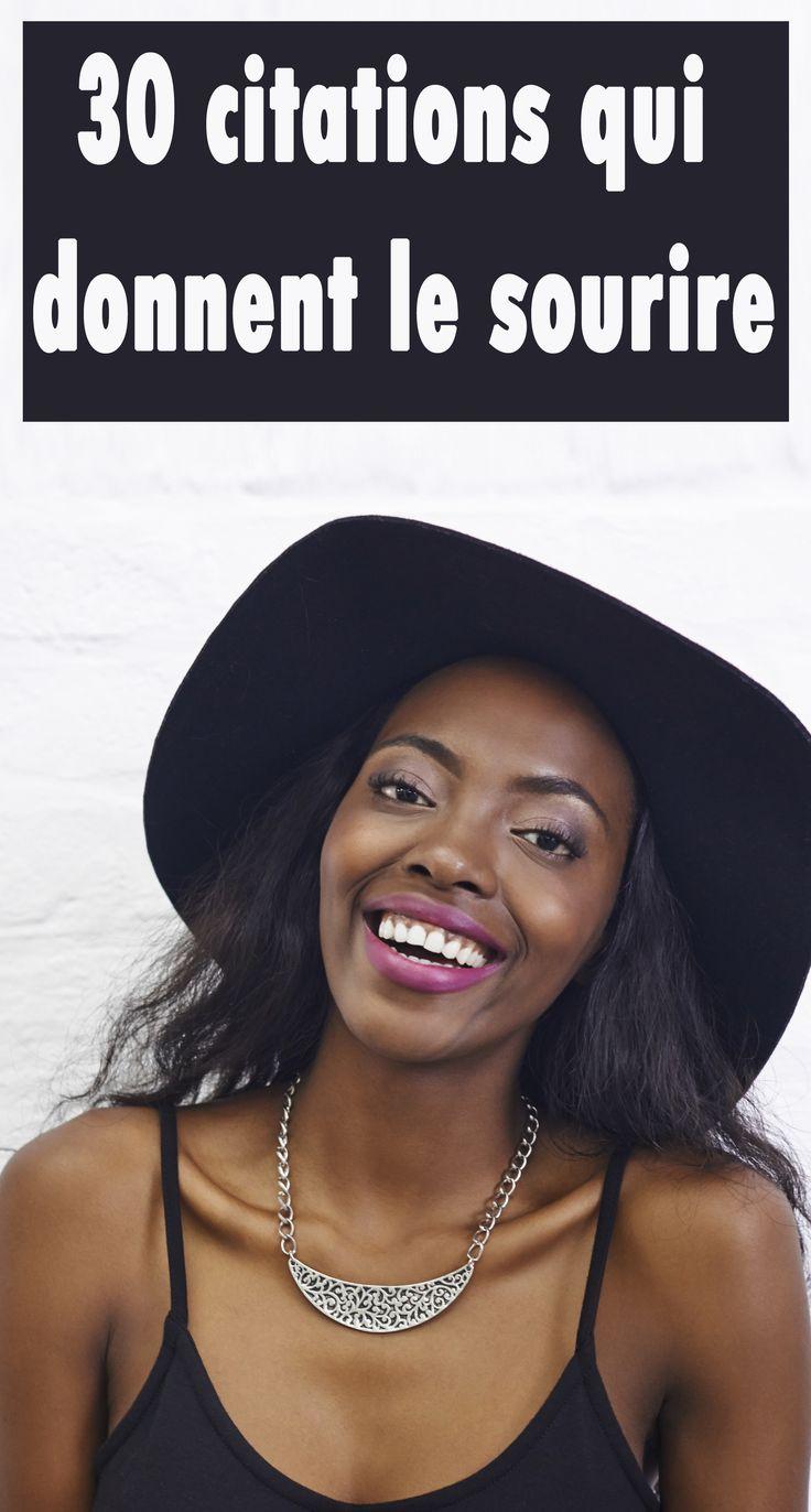 ces citations qui donnent le sourire citations phrases pens es pinterest citations sur. Black Bedroom Furniture Sets. Home Design Ideas