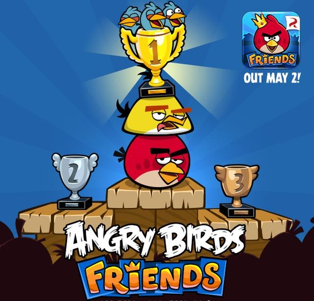 Angry Birds Friends For Android And iOS To Release On 2nd May