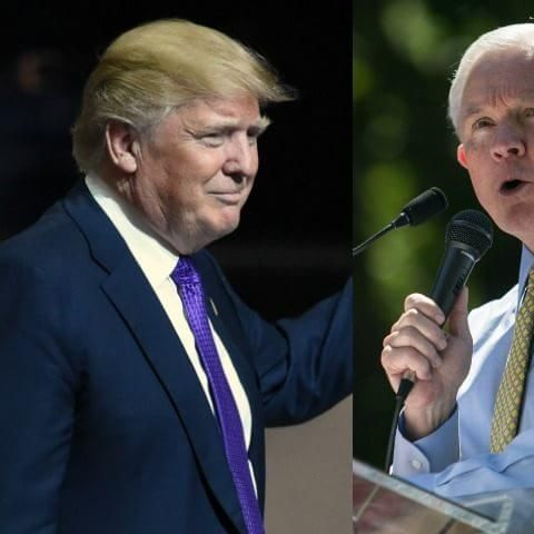 Game Change: Jeff Sessions Endorses Trump from Stage in Alabama; Stunning Event Unites Populist,...