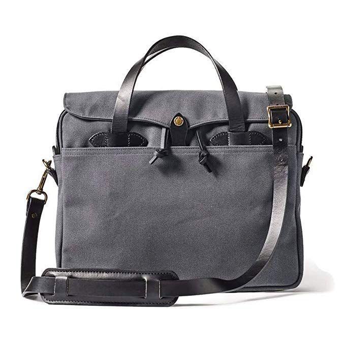 Filson Rugged Twill Original Briefcase Cinder Review Briefcase Filson Bags