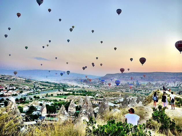 My Cappadocia Trip | Goreme Sunset point