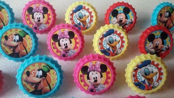 24 MICKEY en vrienden Minnie Goofy Donald door AisforApronStrings