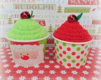 Holiday Sock Cupcakes Sock Cupcakes by BeckysBabyCakesandUn