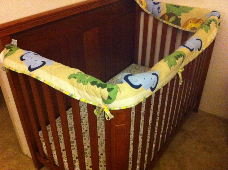 Don T Know What To Do With That Crib Bumper Pad Turn It