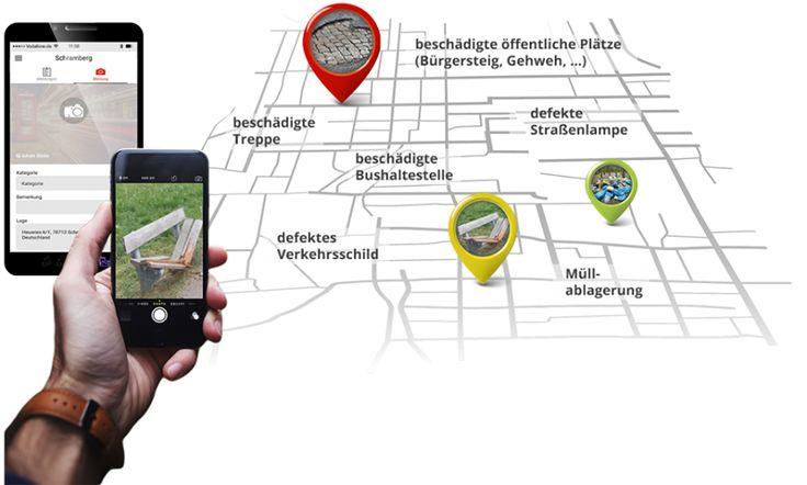 Holen Sie sich Ihre Stadt vollständige Informationen jetzt auf Ihrem Smartphones und Tabletten von CityHub App.