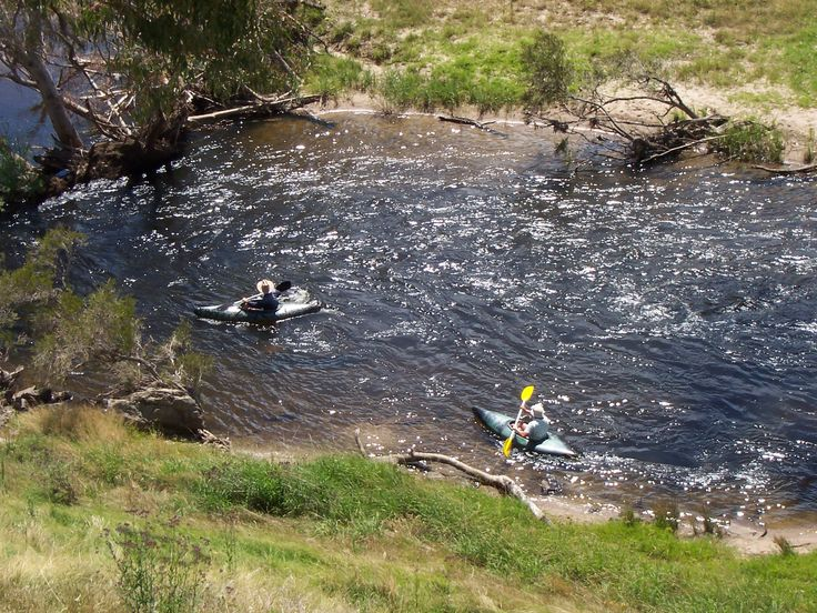Canoeing down the Goobarragandra River is great fun