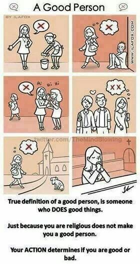 So true.  Religious does not equal tolerant