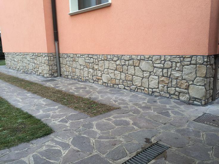 17 migliori immagini zoccolatura esterna in pietra tecnica for Stucco e pietra esterna