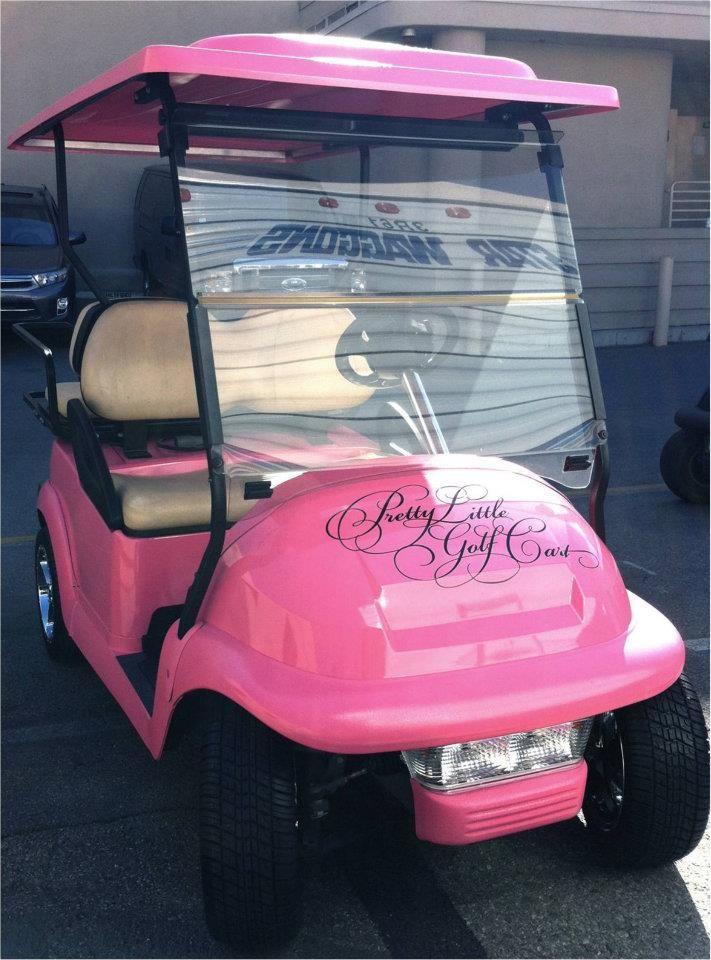 Beep Beep Pretty Little Liars Golf Cart Coming through!