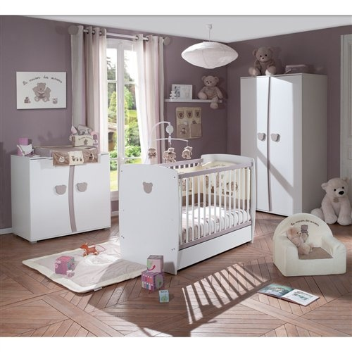 Chambre teddy de la s lection sauthon chambre baby for Chambre charly sauthon