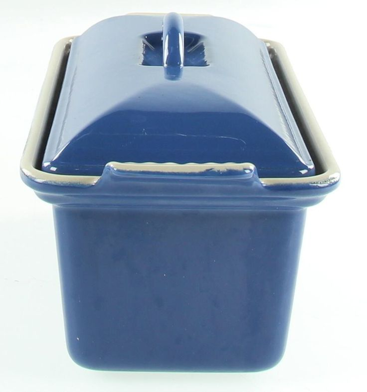 LE CREUSET Blue Stoneware Bakeware Oven Dish With Lid