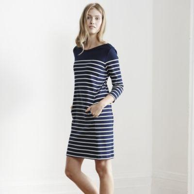 Breton Stripe Shift Dress - Navy/White #TheWhiteCompany #CouponCodes #DiscountSavings