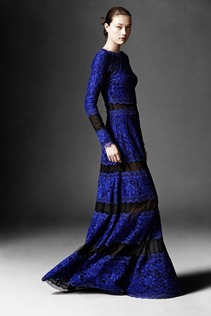 Tadashi Shoji fashion collection, pre-autumn/winter 2014