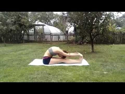 Anna jóga lazító nyújtó torna - YouTube