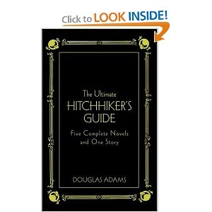 A literary analysis of hitch hikers guide to the galaxy by douglas adams