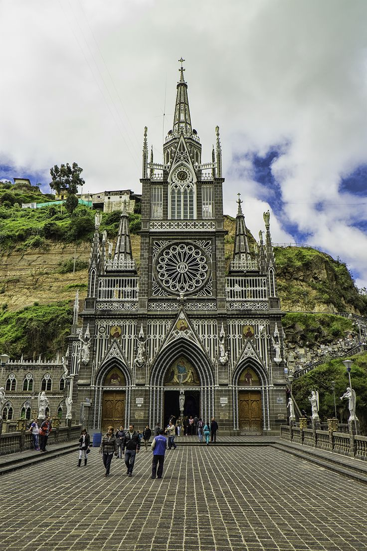 AWESOME!!! Las Lajas Sanctuary Colombia- Have you ever traveled to destination only to find it was nothing like you had imagined? Las Lajas Sanctuary in Colombia wasn't one of those places for us. It everything we had imagined and more!