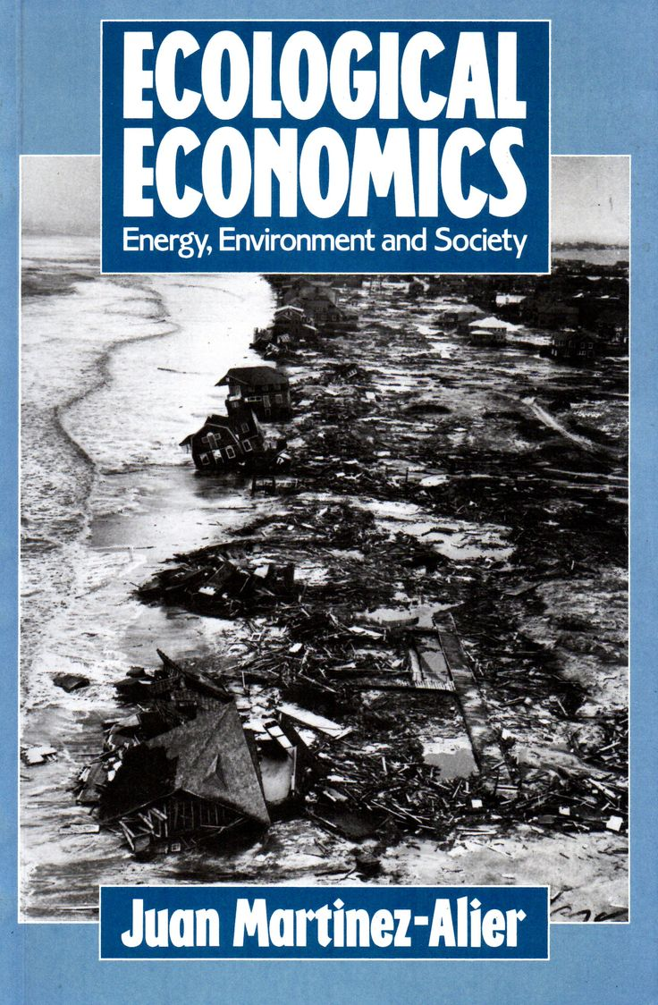 Ecological economics : energy, environment, and society / Juan Martinez-Alier with Klaus Schlüpmann. (B. Blackwell, 1987 (reimpresión 1990) / HC 79.E5 M26E2 /  Cita bibliográfica: http://www.worldcat.org/title/ecological-economics-energy-environment-and-society/oclc/16004227?page=citation