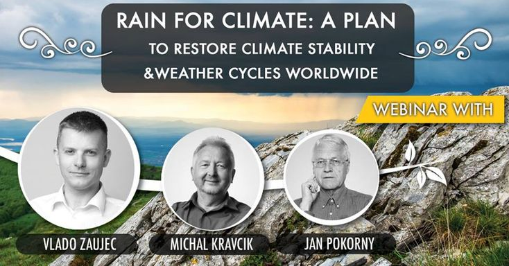 Hey folks, on Thursday, February 22, at 12:00 PM MST join SDMC webinar. This is going to be a pretty amazing webinar with the authors of the New Water Paradigm: Michal Kravcik, Jan Pokorny, and Rain for Climate Director Vlado Zaujec. Definitely, join if you want to see examples of large-scale watershed restoration, and it impacts on restoring climate and stable weather patterns. https://www.sustainabledesignmasterclass.com/rainforclimate