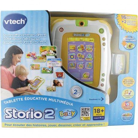 Tablette Storio 2 Baby (coque de protection incluse) : jeux, photos, vidéos sans connexion Internet !!!