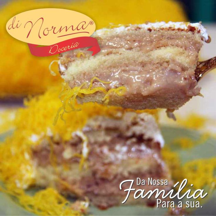 Bolo Nozes com Doce de Leite: Delicioso bolo branco recheado com doce de leite e Nozes, coberto com marshmallow e fios de ovos. #love #DiNorma #cake #curta #siga e #compartilhe