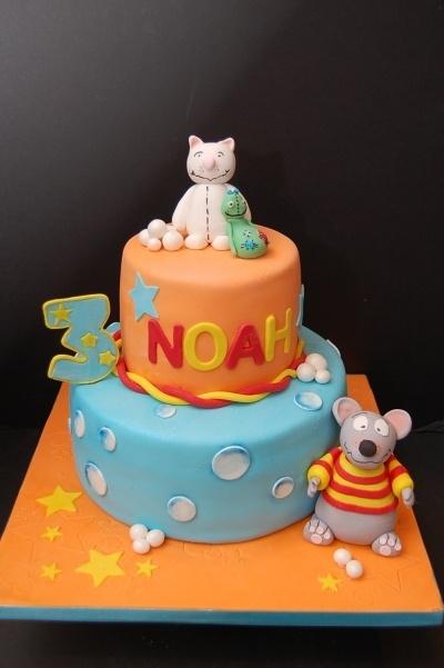 Toopy & Binoo Birthday Cake By It's a Cake Thing AKA bacibaci on CakeCentral.com