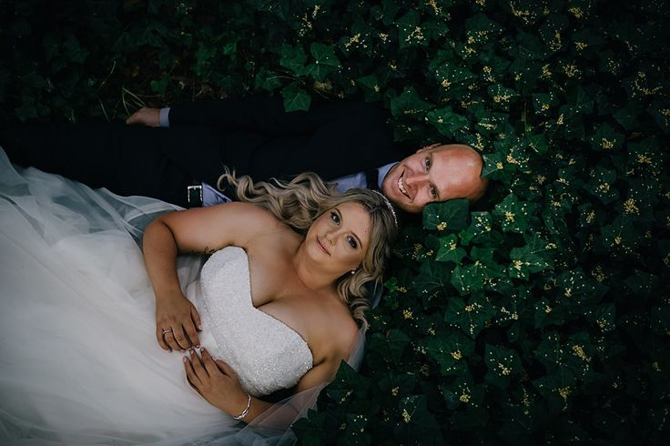 Wedding photo idea for those who don't mind getting a little dirty!  Tegan Clark Photography