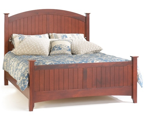 Farmhouse bed - AP Industries, Quebec - for Master Bedroom
