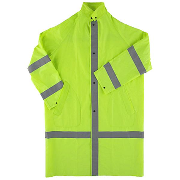 Neese 2-Piece Raincoat with Hood Lime Green XXXXXX-Large SECURITY Legend